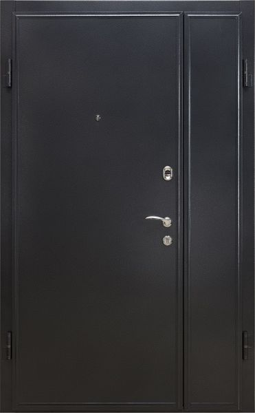 стальная двустворчатая дверь ле гран арктика база 6 металл